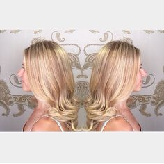 Bright & beautiful blonde! ☀️ :: RedBloom Salon