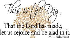 I start every day claiming this verse!