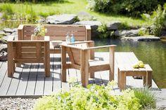 Jan Kurtz Gartenlounge-Sessel Batten kaufen im borono Online Shop