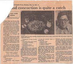 """Seafood """"Goop"""" a la Newburg"""