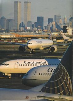 Continental Airlines owned the New York market.