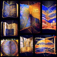 Alchemy. A Miniature Artist  Book. This book is by ImajicaAmadoro