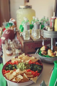 Football and Super Bowl Birthday Party Ideas | Photo 5 of 27 | Catch My Party