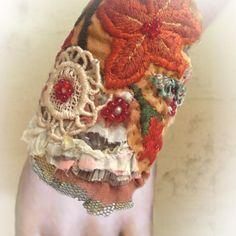 wire wrap and fabric wrist cuffs - Google Search