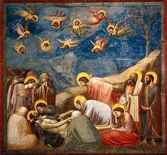 """Giotto - Ağıt """"Lamentation"""""""