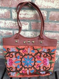 handmade , hand embroidered beautiful bags for sale if anybody intrested call me or whats app me on this number +91 9086693168