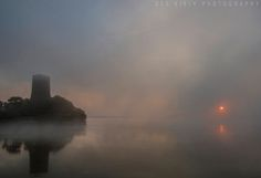 Mist over Ferrycarrig by Des Kiely Wexford Ireland, Mists, Gem, Northern Lights, Most Beautiful, Island, Places, Travel, Viajes