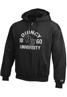 Product: Quincy University Full-Zip Hooded Sweatshirt