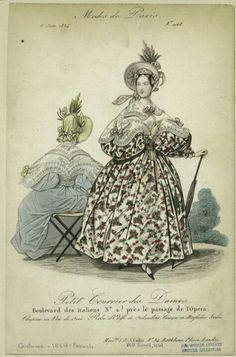 Modes de Paris, 1832.