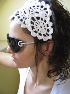 crochet headband..I'd like a chart for this, please.