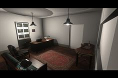 Warden Office - Unity Render
