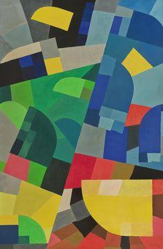 Ju est fou - Paintings byOtto Freundlich.