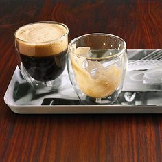 Espresso Shakerato con Rosa Rezept | Küchengötter