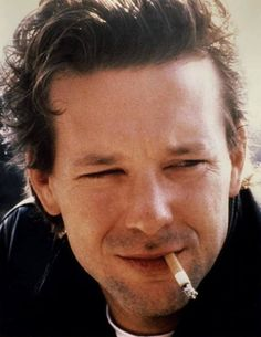 * People Smoking, Mickey Rourke, Thriller Film, Tough Guy, Screenwriting, American Actors, Sexy Men, Moustaches, Greenwich Village