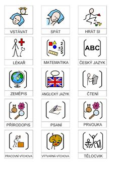 piktogramy pro autisty - Hledat Googlem Language, Activities, Sewing, Kids, Autism, Studying, Young Children, Dressmaking, Boys