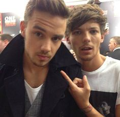 Liam Payne and Louis Tomlinson - This Is Us premiere NY