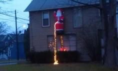 Youre Drunk, Santa And your pee is on fire.