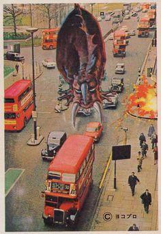 Kaiju Around the World - London