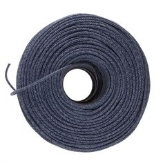 DIY Cloth Covered Wire - Blue Mini Tweed