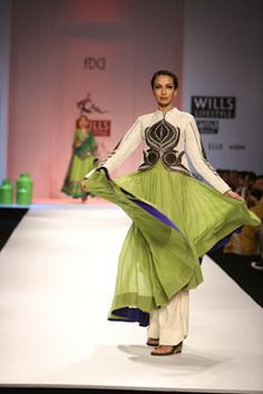 Ekta Jaipuria and Ruchira Kandhari Collection at Wills Lifestyle India Fashion Week 2013 on Day 3