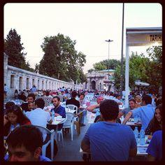 Süleymaniye'de iftarı bekliyoruz.. #ramazan #iftar #süleymaniye