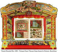 EKDuncan - My Fanciful Muse: Spanish Paper Theater Images Part 2 - Paluzie, Barcelona
