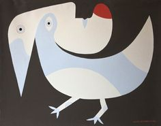 Victor Brauner, Oiseau bleu, 1963