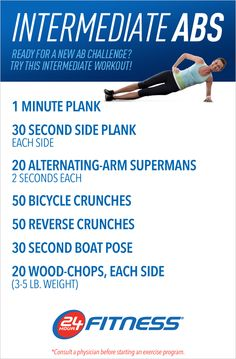 Feel the burn with this quick-but-effective ab routine! #abs #workout #core #24hourfitness   Find more workout ideas here: http://community.24hourfitness.com/t5/Fitness-Nutrition/Three-Ab-Routines-to-Build-a-Strong-Lean-Core/ba-p/24497