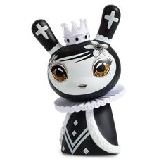 Otto Bjornik's Dunny Chess Series is the first collection of it's kind! This series makes up an entire chess set once fully collected. The Dunny figures in this series are designed to be a king, queen