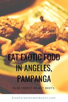 Travel Challenge: Eat Exotic Food in Angeles, Pampanga Filipino Food, Filipino Recipes, Kare Kare, Blue Forest, Oxtail, Exotic Food, Philippines Travel, Food Reviews, Stew