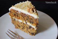 Mrkvová torta - recept | Varecha.sk Carrot Cake, Banana Bread, Carrots, Cake Recipes, French Toast, Food And Drink, Pie, Sweets, Breakfast