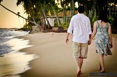 Engagement portrait session? A walk on the beach!   www.studioenzo.com  