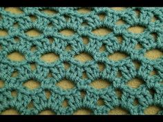 The Peephole Stitch Crochet Tutorial! - YouTube