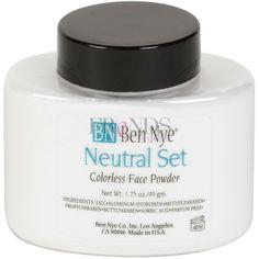 Ben Nye Face Powder Neutral Set Translucent