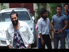 Riteish Deshmukh spotted at Sunny Super Sound Studio, Mumbai.