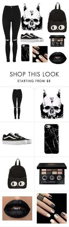 """those emo days, don't worry we all have them"" by youfoundryan ❤ liked on Polyvore featuring Topshop, memento, Vans, Recover and Bobbi Brown Cosmetics"