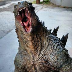 Custom-built 5-foot tall Godzilla 2014 Statue (Not made by me...) - Album on Imgur