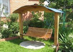 Делаем удобные детские качели на даче своими руками | Дачный сад и огород