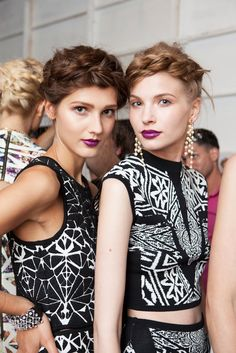 Nicole Miller's Show Has Us Screaming, Holy Pattern!  #refinery29 #NMREVOLUTION