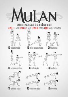 Mulan Workout