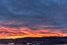 Burning Sky by ChristianThür Photography on Creative Market Clouds, Sky, Celestial, Marketing, Sunset, Creative, Movie Posters, Photography, Outdoor