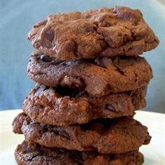 """Chocolate Chocolate Chip Cake Cookies   """"A chocolate lover's ultimate cookie."""""""