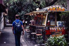 Negocio de Tortas en la Condesa, Ciudad de México