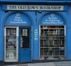 The Old Town Bookshop - Edimbourg                                                                                                                                                                                 Plus