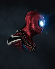 Spiderman Pop head shot - #INFINITYWAR edition by Bosslogic