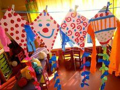 Προσχολική Παρεούλα : Οι χαρταετοί της Καθαράς Δευτέρας , και ο χαρταετός των φόβων μας !!! Carnival Crafts, Autumn Nature, Preschool Themes, Bible Crafts, Nature Crafts, Christmas Crafts For Kids, Pre School, Kite, Clip Art