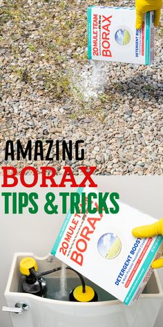 Here is 15 bizzarre ways you can use borax to clean and just do some random things both in and outside of your house. #borax #boraxcleaning #boraxcleaninghacks #tipsandtricks #easycleaning #cleaning Borax Cleaning, Household Cleaning Tips, Household Cleaners, House Cleaning Tips, Cleaning Hacks, Bathroom Cleaning, Cleaning Solutions, Spring Cleaning, Clean Shower Grout
