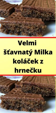 Velmi šťavnatý Milka koláček z hrnečku Beef, Food, Dieting Tips, Meat, Essen, Meals, Yemek, Eten, Steak