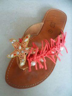 Elli's Shoes & Sandals: koralli