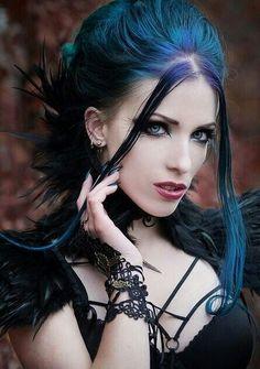 Goth fashion.